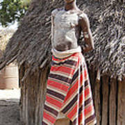 Ethiopia-south Tribesman Teenager No.1 Poster
