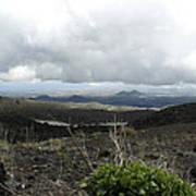 Etna's Landscape Poster