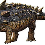 Euoplocephalus Tutus, A Prehistoric Era Poster