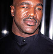 Evander Holyfield At Premier Of In Too Poster by Everett