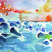 Evening Tide Poster by Ginette Callaway