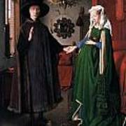 Eyck: Arnolfini Marriage Poster