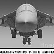 F-111e Aardvark Poster