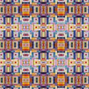 Fabric Art Poster