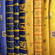 Fabrics From Provence Poster