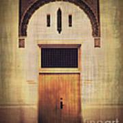 Faded Doorway Poster