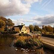 Fairford Mill In The Evening Poster