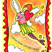 Fairies Litsten With The Heart  Poster