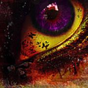 Fairy Eye Poster by Yvon van der Wijk