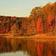 Fall At Patoka Poster