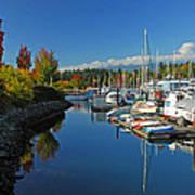 Fall Colors At English Bay Poster
