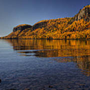 Fall Colours In The Squaw Bay II Poster