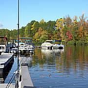 Fall Fishing Break Poster