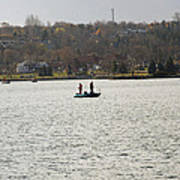 Fall Fishing Poster