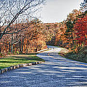Fall Foliage On The Blue Ridge Parkway Poster