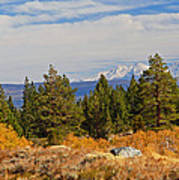 Fall In The Sierra Poster