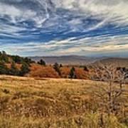 Fall On Whitetop Mountain Poster