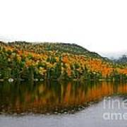 Fall View Of Saco Lake And Elephants Head Poster