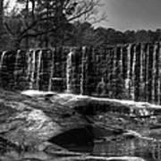 Falls At Yates Mill Poster