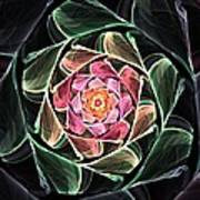 Fantasy Floral Expression 111311 Poster