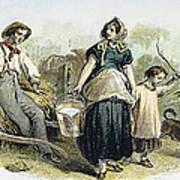 Farm Scene, C1870 Poster
