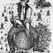 Farming: Corn Husker Poster