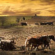 Farming Rain Race Poster