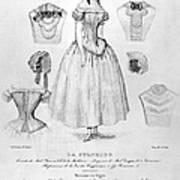 Fashion: Corset, C1850 Poster