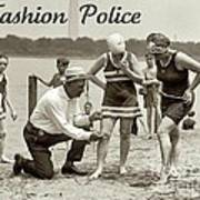 Fashion Police 1922 Poster