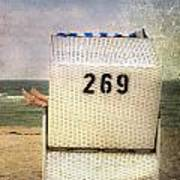 Feet And Beach Chair Poster by Joana Kruse