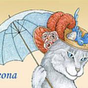 Feline Finery - Leona Poster