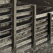 Fence Close Up Poster