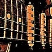 Fender In Brown Poster