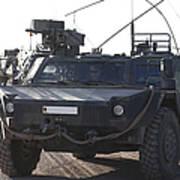 Fennek Armored Reconnaissancd Vehicles Poster