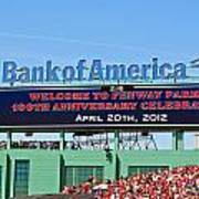 Fenway's 100th Poster