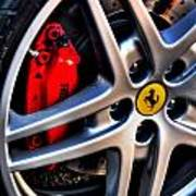 Ferrari Shoes Poster