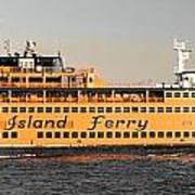 Ferry Time Poster