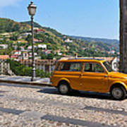 Fiat 500 Amantea Poster