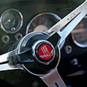 Fiat Steering Wheel Poster