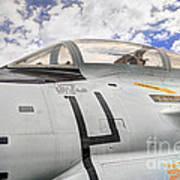 Fighter Jet Cockpit Poster