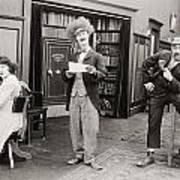 Film Still: Sleuths, 1919 Poster