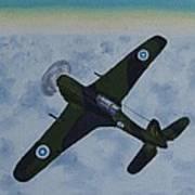 Finnish Morane-saulnier 406 In 1946 Poster
