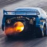 Fireforce Jet Funny Car Poster