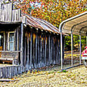 Fireman Cottage Poster