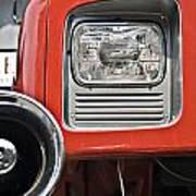 Firetruck Light And Horn Poster