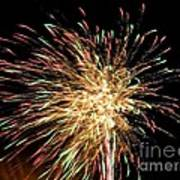 Firework Poster by Meandering Photography