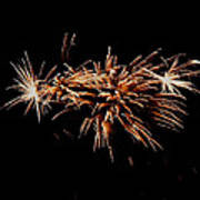 Firework Tails Poster