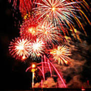 Fireworks Away Poster