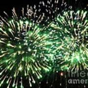 Fireworks Number 4 Poster