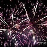 Fireworks Number 5 Poster